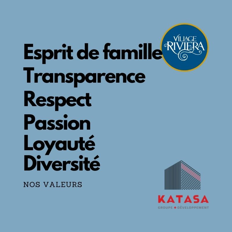 valeur katasa Village Riviera
